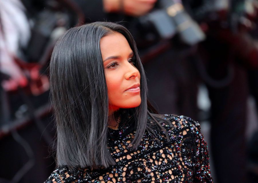 Shy'm à la cérémonie d'ouverture du 71ème Festival de Cannes