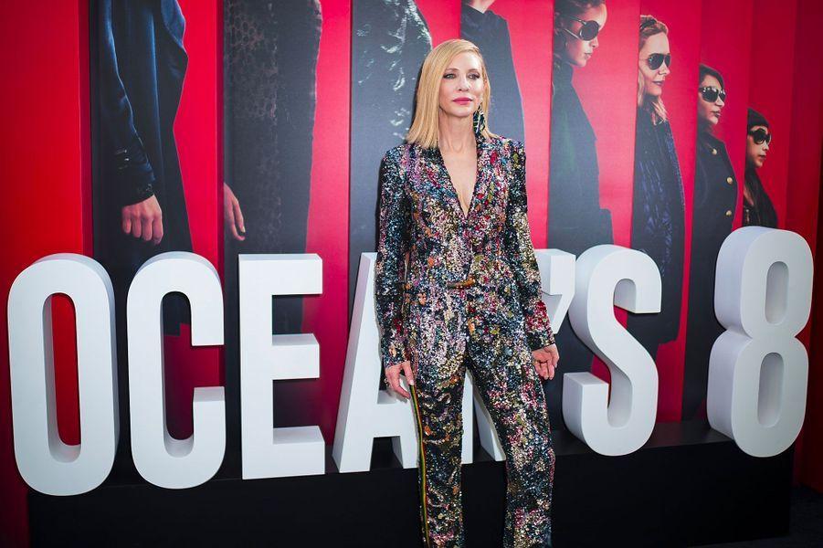 Cate Blanchett à l'avant-première à New York le 5 juin 2018