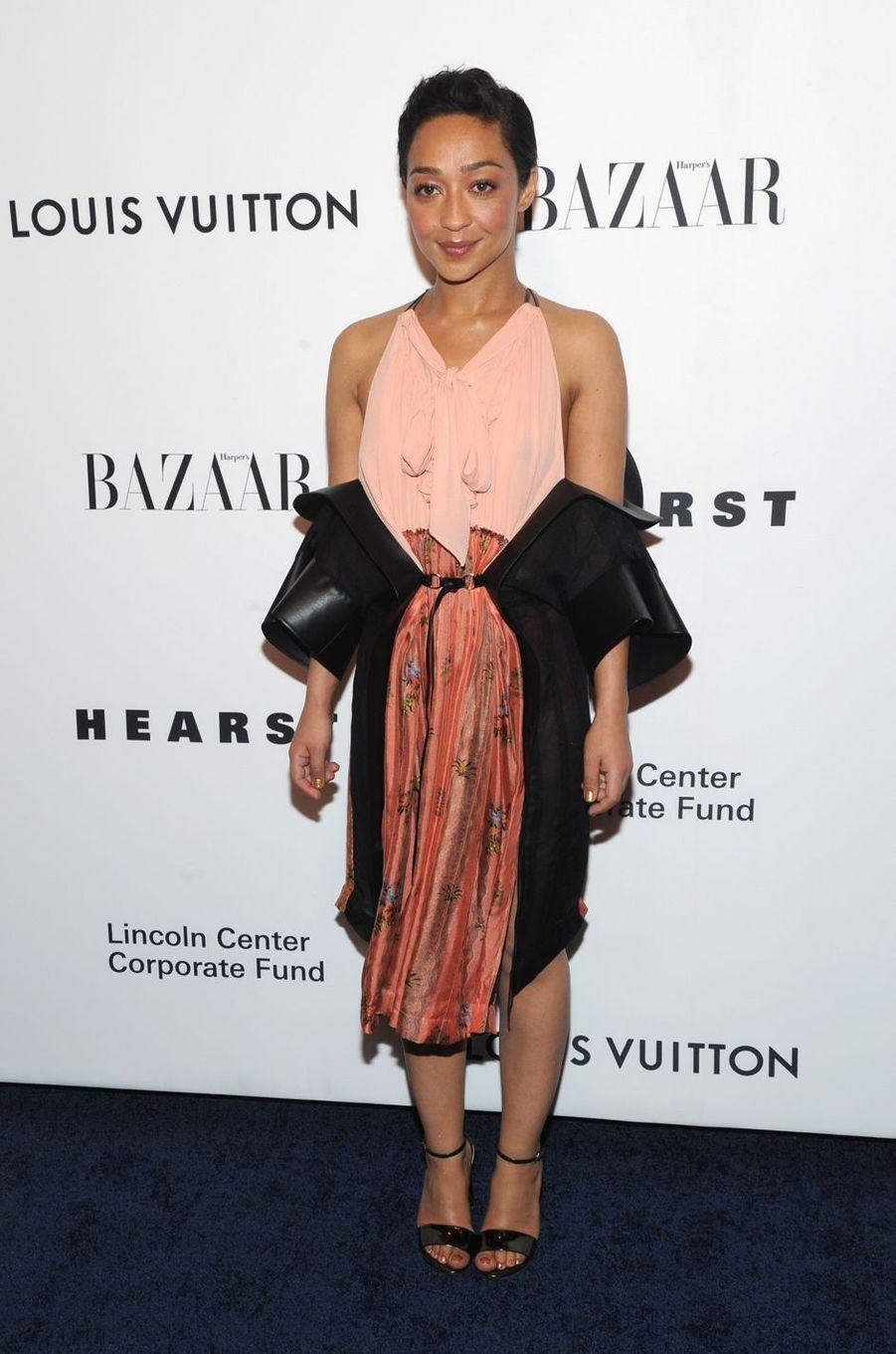 Ruth Neggaau gala de la fondation du Lincoln Center, le 30 novembre 2017 à New York.