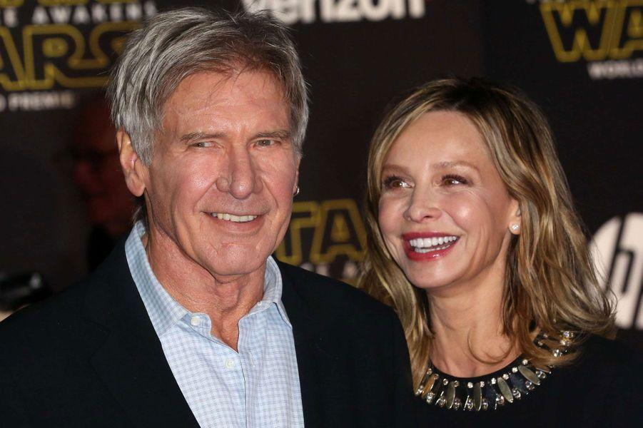 Calista Flockhart (51) et Harrison Ford (74)