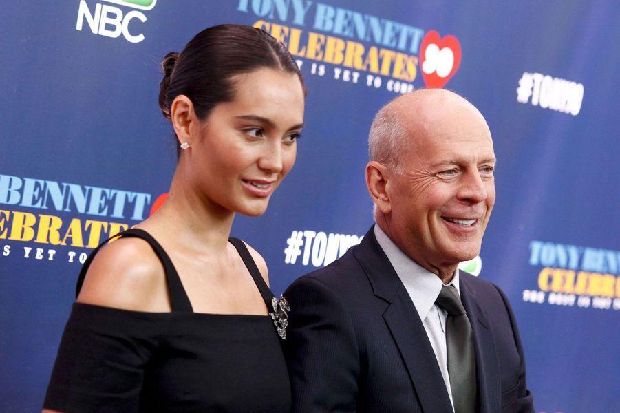 Emma Heming (38) et Bruce Willis (61)