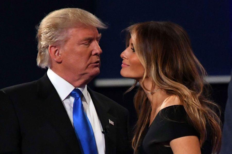 Melania Trump (46) et Donald Trump (70)