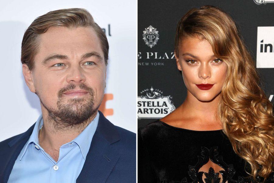 Nina Agdal (24) et Leonardo DiCaprio (41)