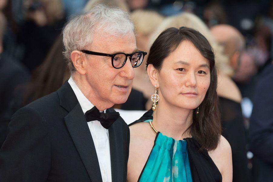 Soon-Yi Previn (45) et Woody Allen (80)
