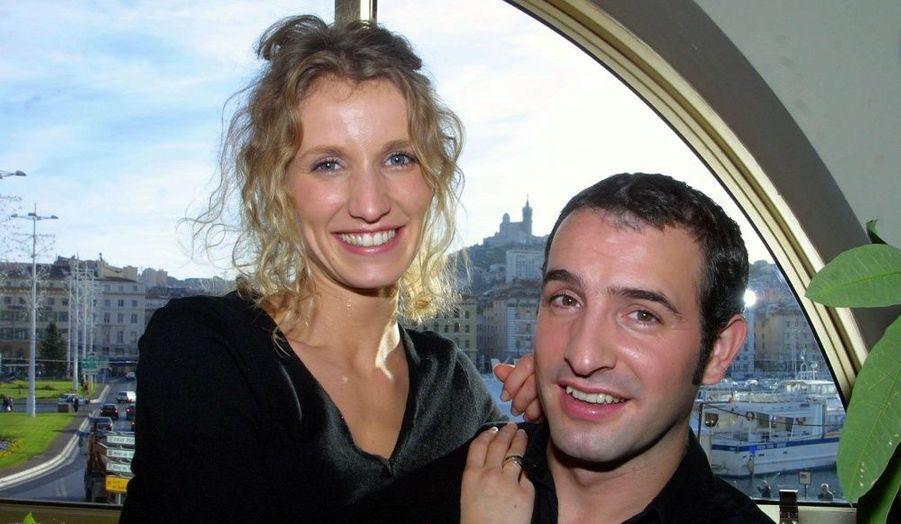 En 1999, Alexandra Lamy et Jean Dujardin se rencontrent sur le plateau d'Un gars une Fille.