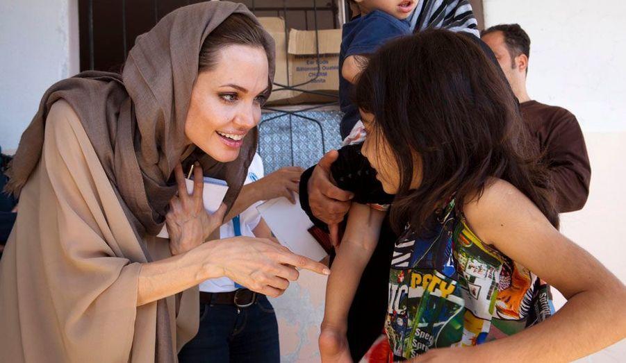 L'actrice est arrivée au Liban jeudi.