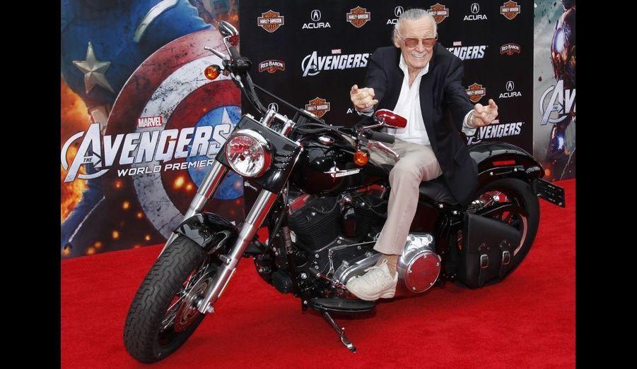 Le créateur du comic et producteur exécutif du film.