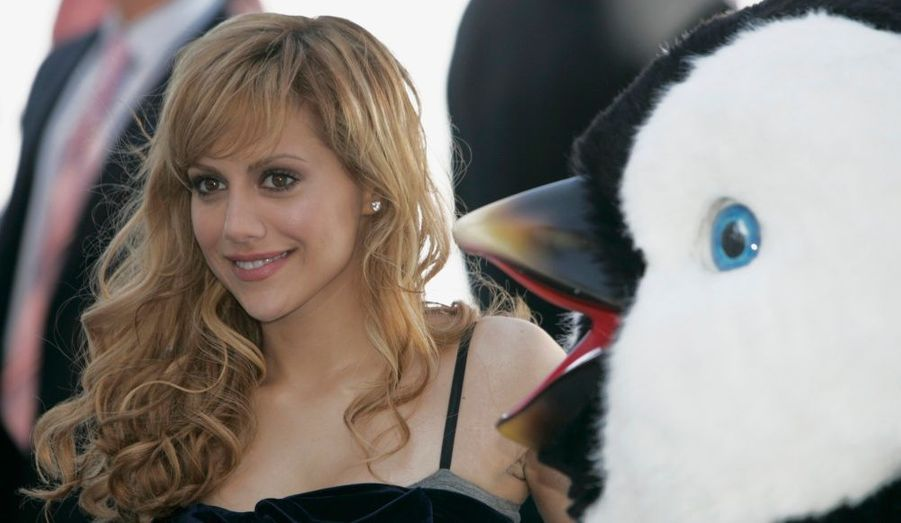 Plutôt rare au cinéma ces dernières années, Brittany Murphy a donné de la voix dans Happy Feet.