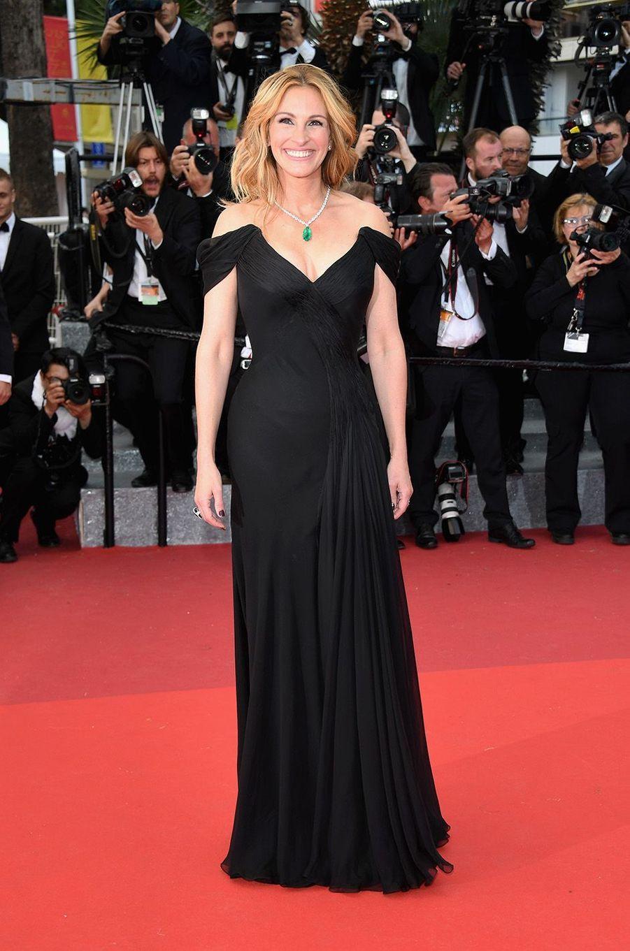 Julia Roberts au Festival de Cannes, le 12 mai 2016.