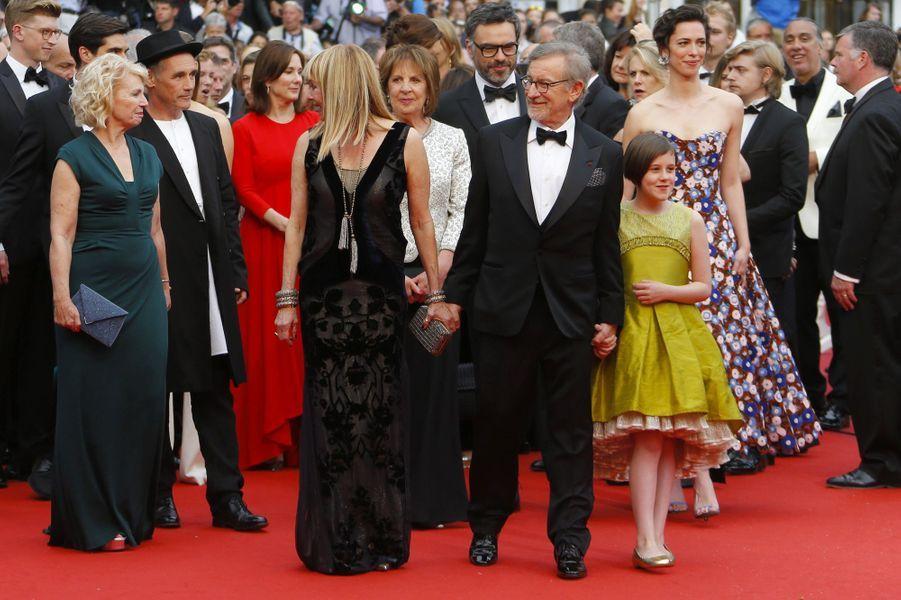 """Steven Spielberg présente """"Le Bon Gros Géant"""" au 69e Festival de Cannes, le 14 mai 2016"""
