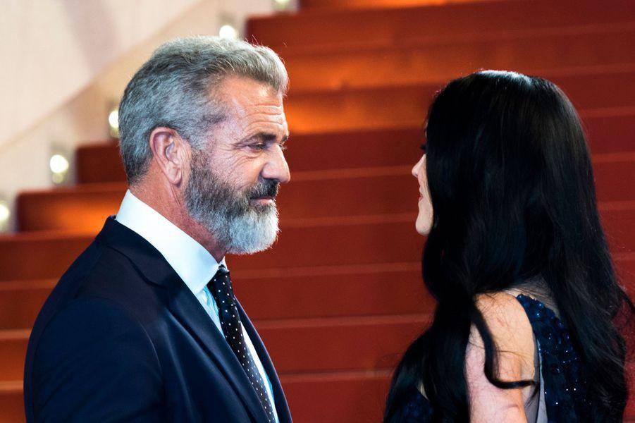 Mel Gibson et Rosalind Ross
