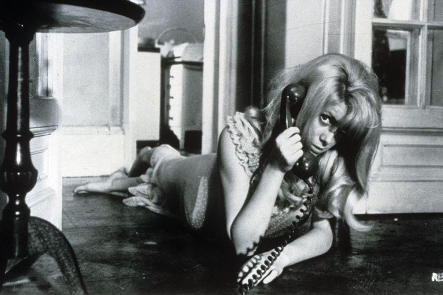 """Catherine Deneuve dans """"Répulsion"""", sorti en 1966"""