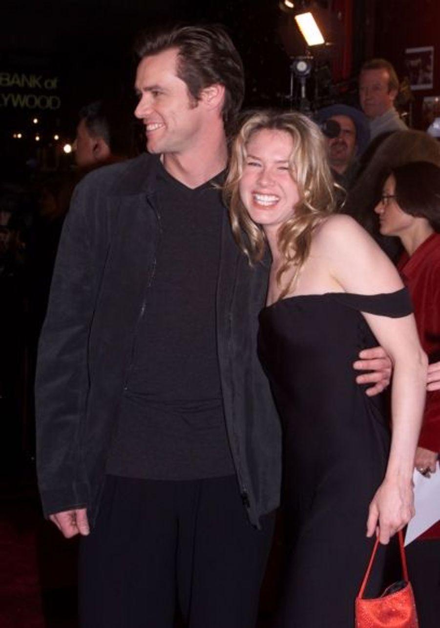 En 2000, Jim Carrey et Renee Zellweger tournent Fou d'Irène, mais ce film aurait pu s'appeler Fou de Renee. Ils flirteront un temps, avant de continuer leur vie chacun de leur côté...