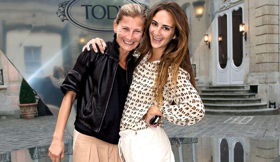 It girls: Elizabeth von Guttman et Alexia Niedzielski.