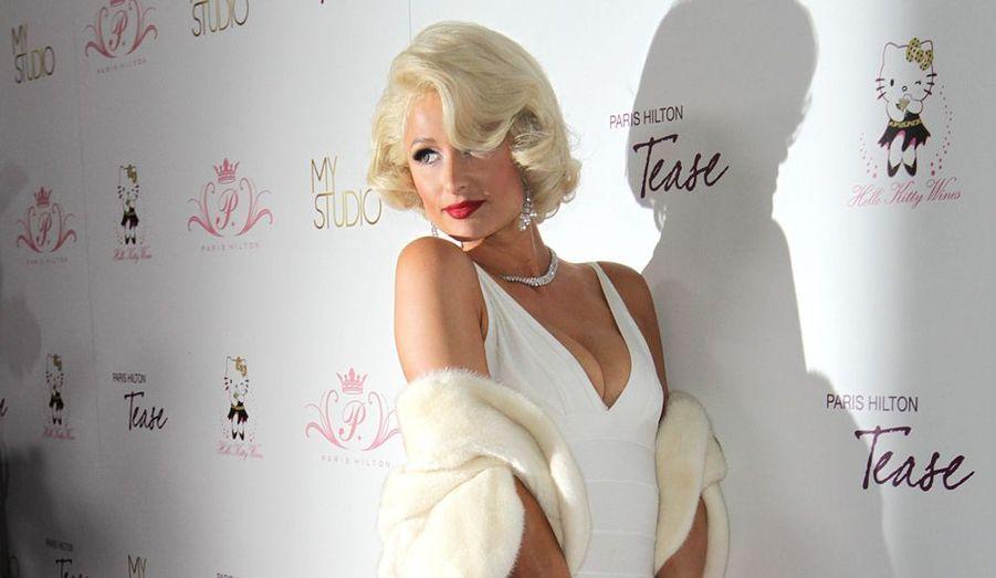 L'héritière glamour est une fan de Marilyn.