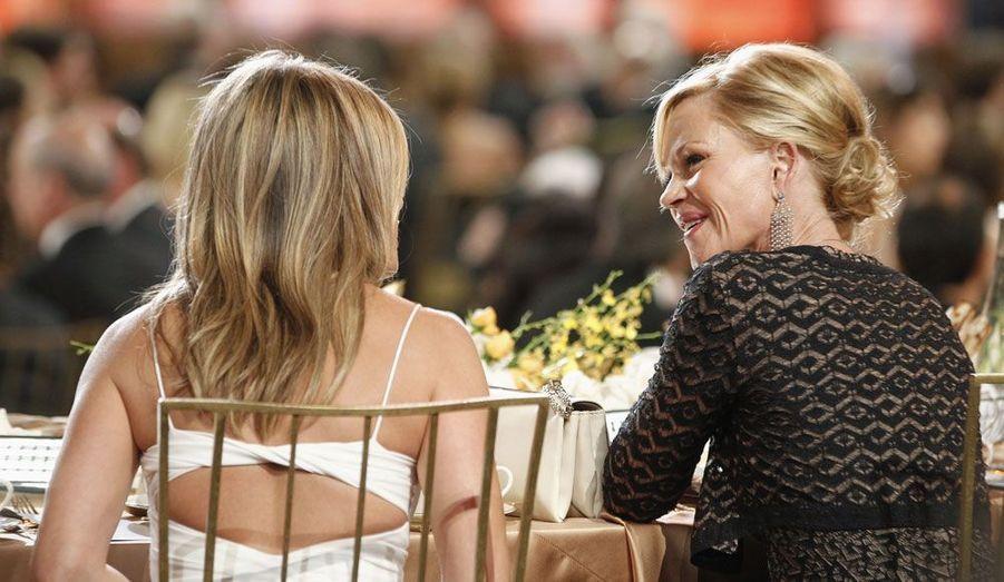 Jennifer Aniston et Melanie Griffith