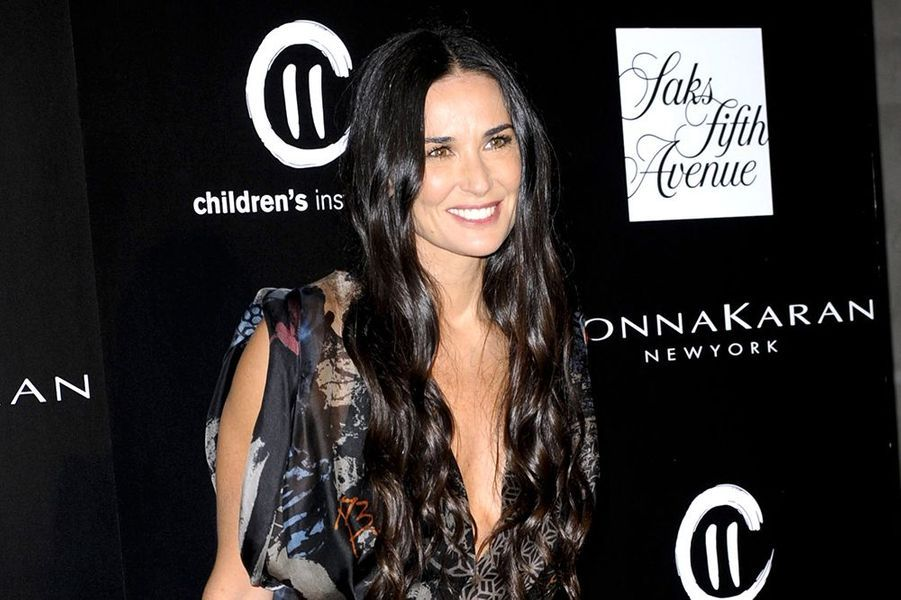 Demi Moore à la «Philanthropic Society Autumn Party» de Los Angeles ce 8 octobre 2014
