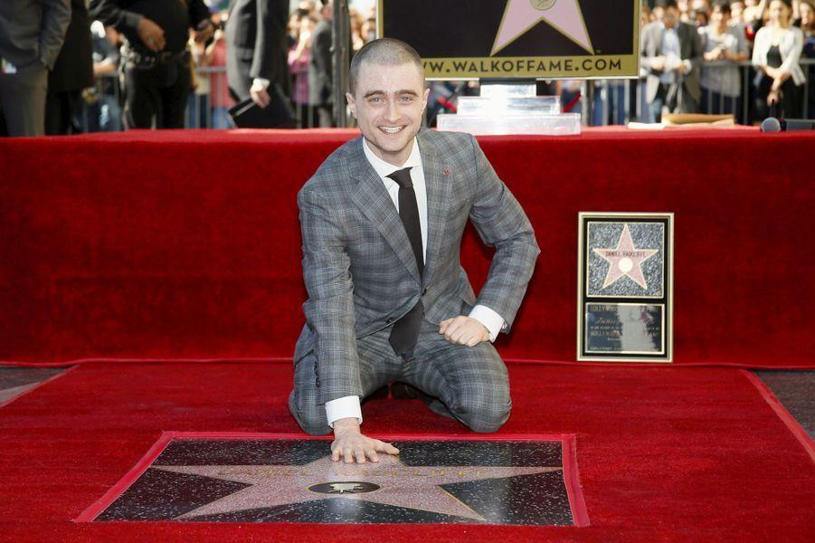 Daniel Radcliffe à Los Angeles le 12 novembre 2015