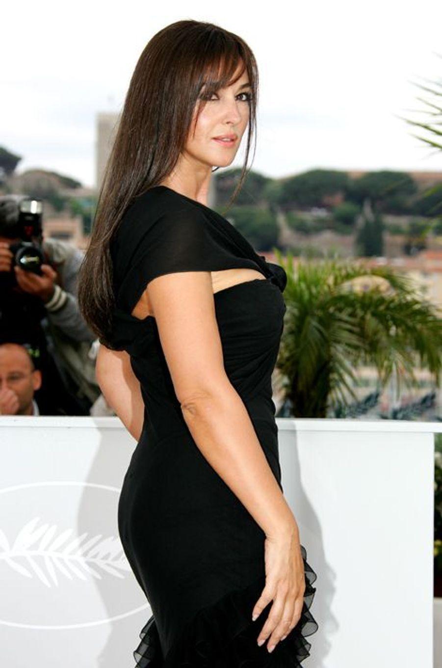 """Au Festival de Cannes en 2008 pour le film """"Une histoire italienne"""""""