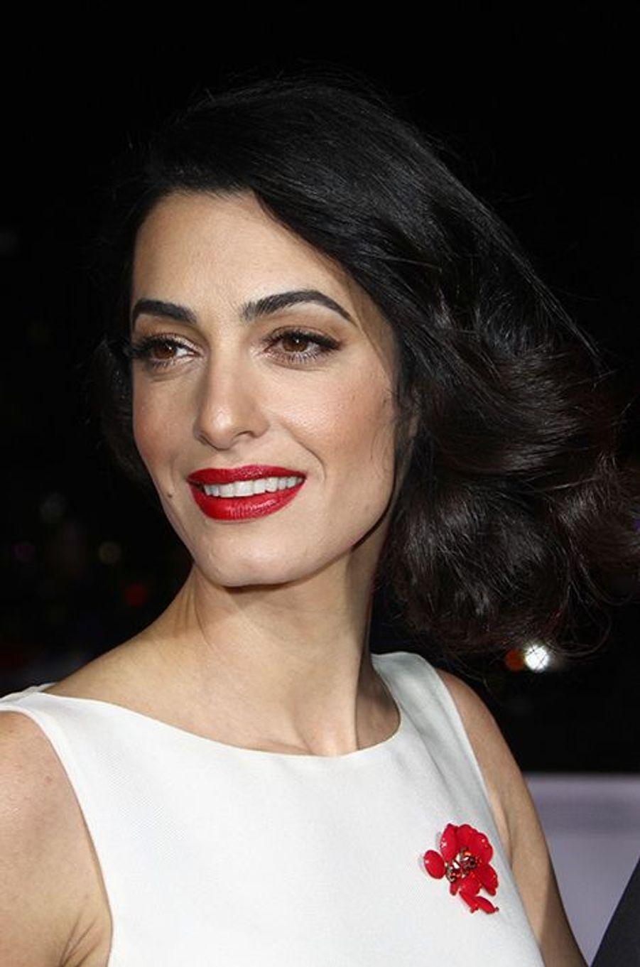 Amal Clooney à Los Angeles le 1er février 2016
