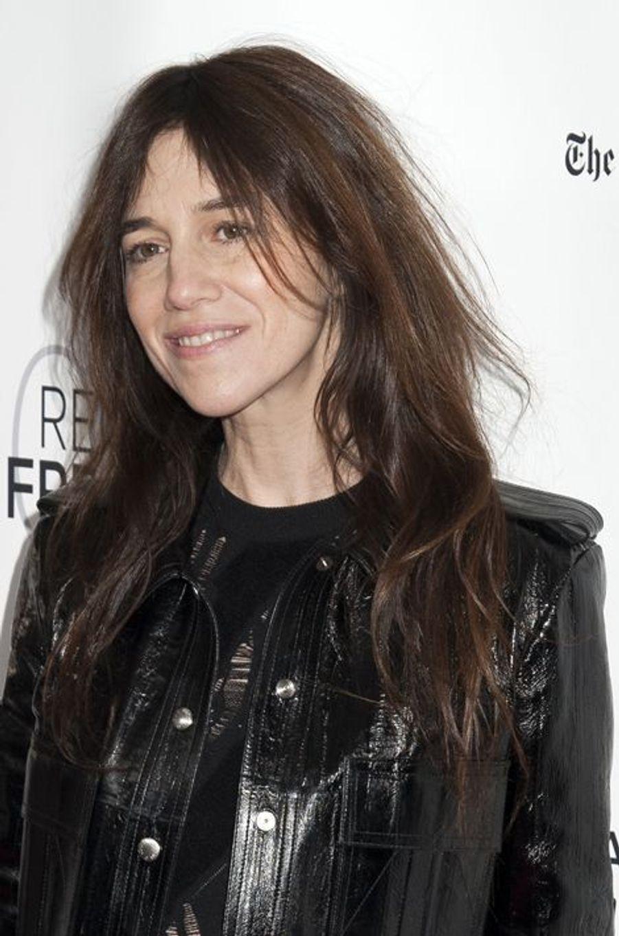 Charlotte Gainsbourg à la première aux USA de «Trois cœurs» à New York, le 6 mars 2015