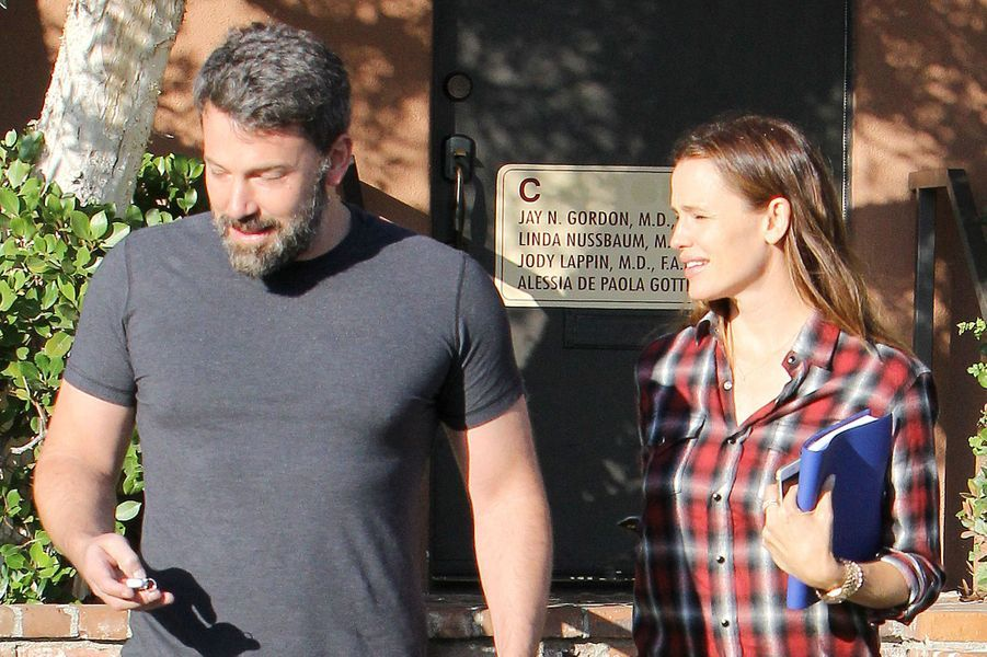 Ben Affleck et Jennifer Garner à Los Angeles le 3 septembre 2015