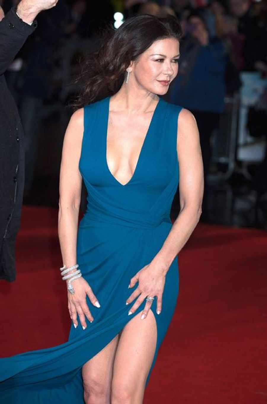 Catherine Zeta-Jones à Londres le 26 janvier 2016