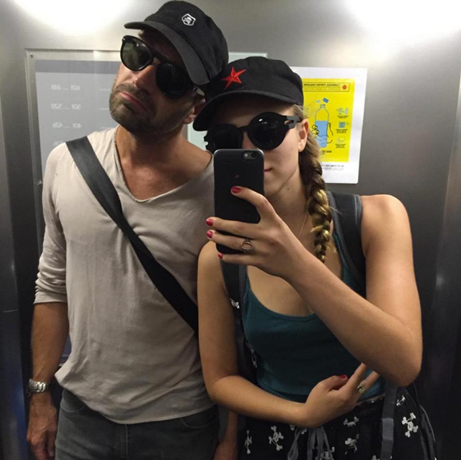 La fille d'Alexandra Lamy s'éclate en vacances