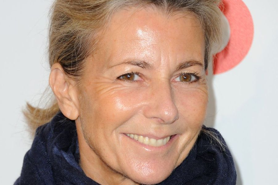 """Claire Chazal à l'avant-première de """"Lolo"""", à Paris, le 19 octobre 2015"""