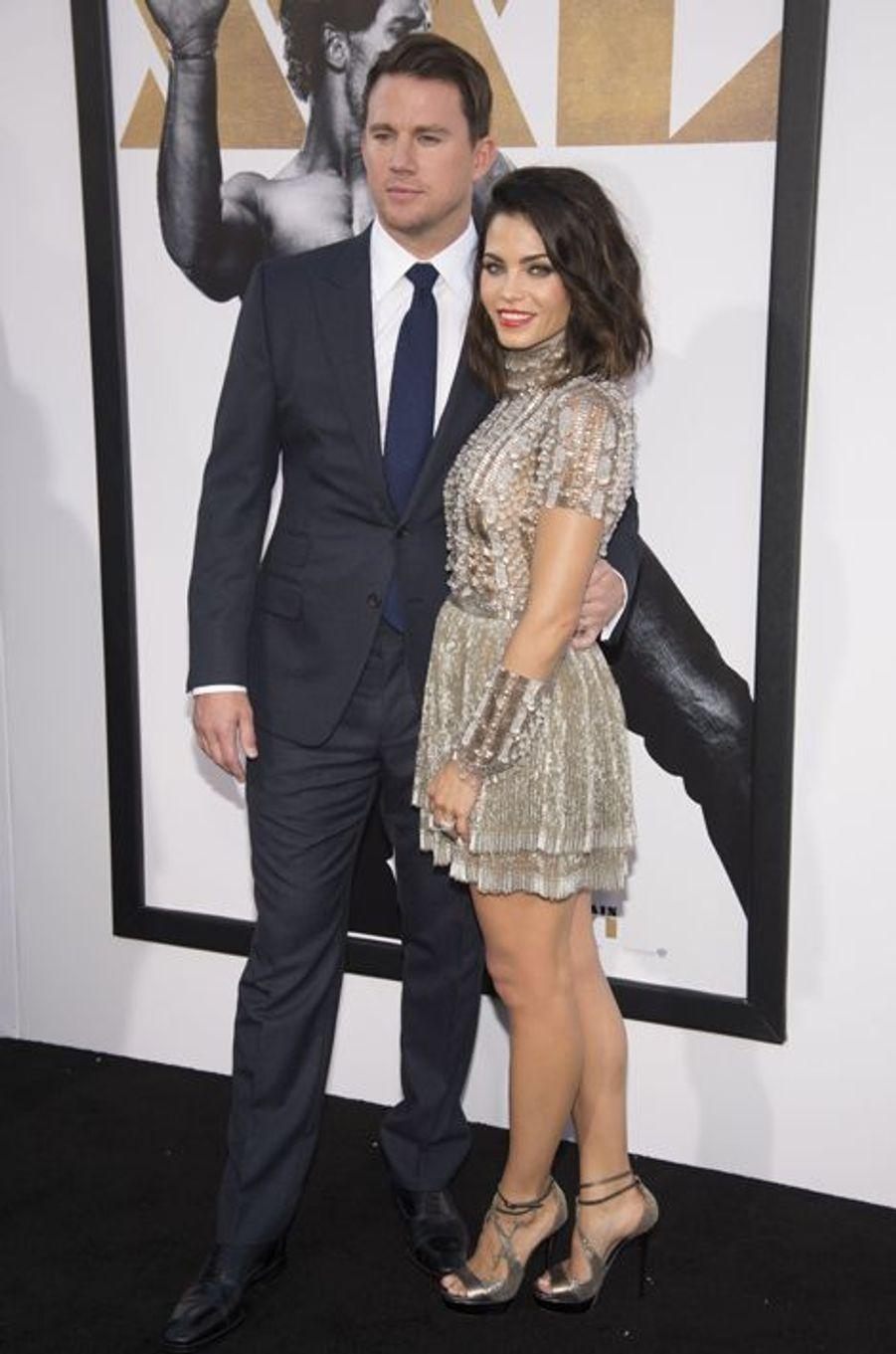 Channing Tatum et sa compagne Jenna Dewan