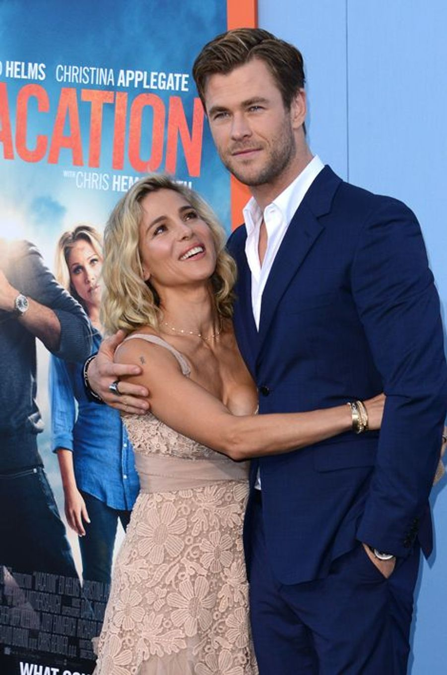 Chris Hemsworth et Elsa Pataky à Los Angeles le 27 février 2015