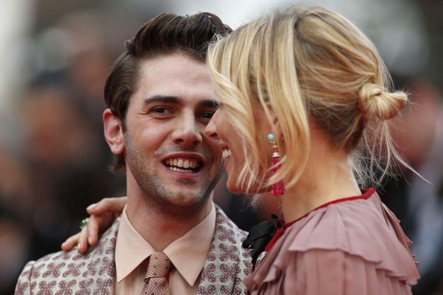 Sienna Miller et Xavier Dolan à Cannes le 23 mai 2015