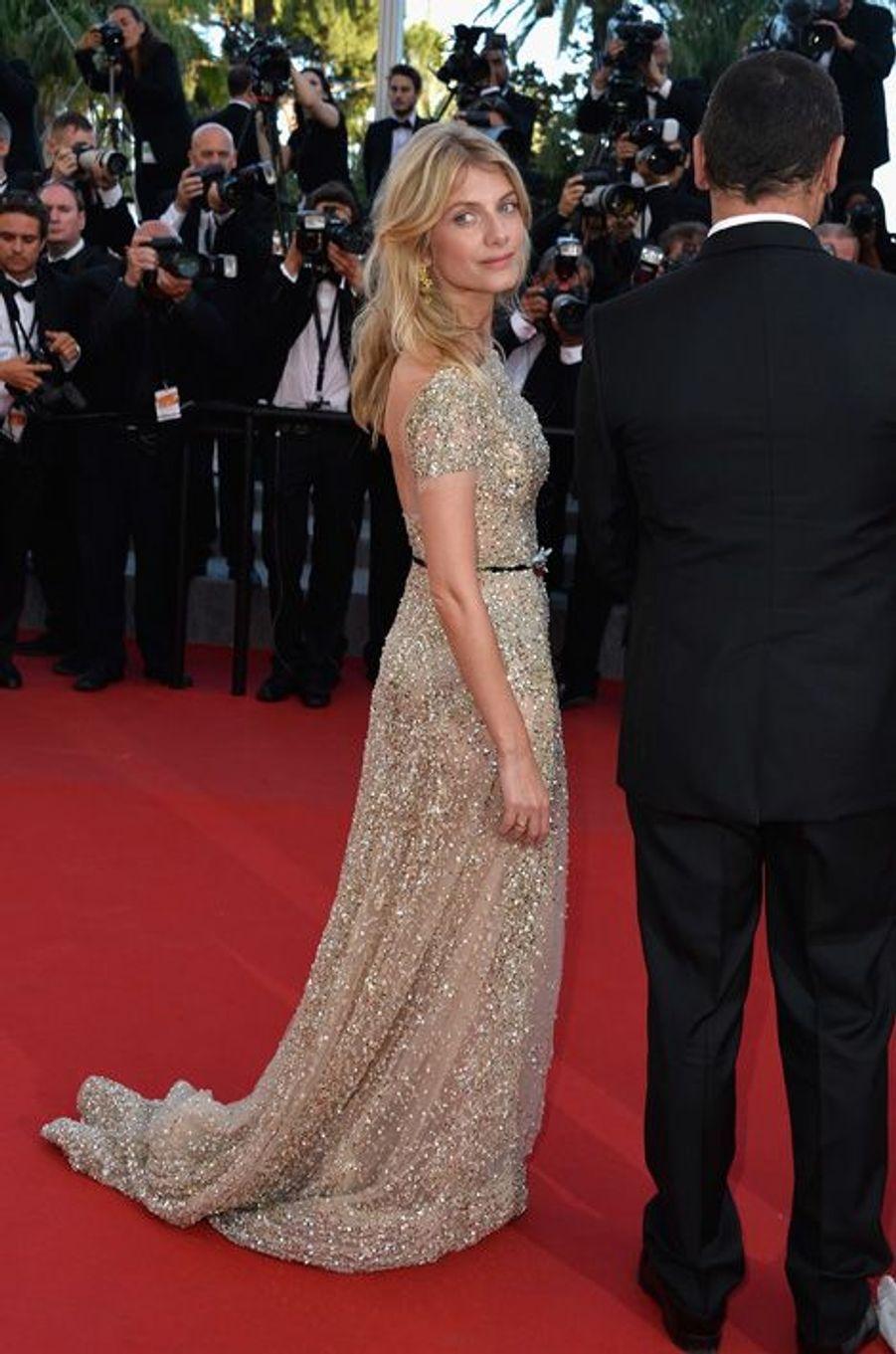 Mélanie Laurent en Zuhair Murad Couture au Festival de Cannes