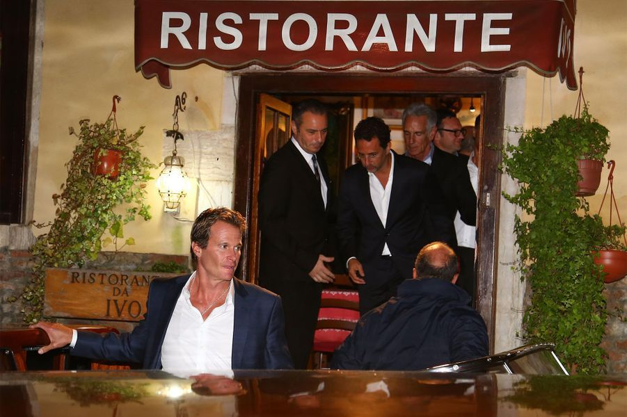 George Clooney et ses amis