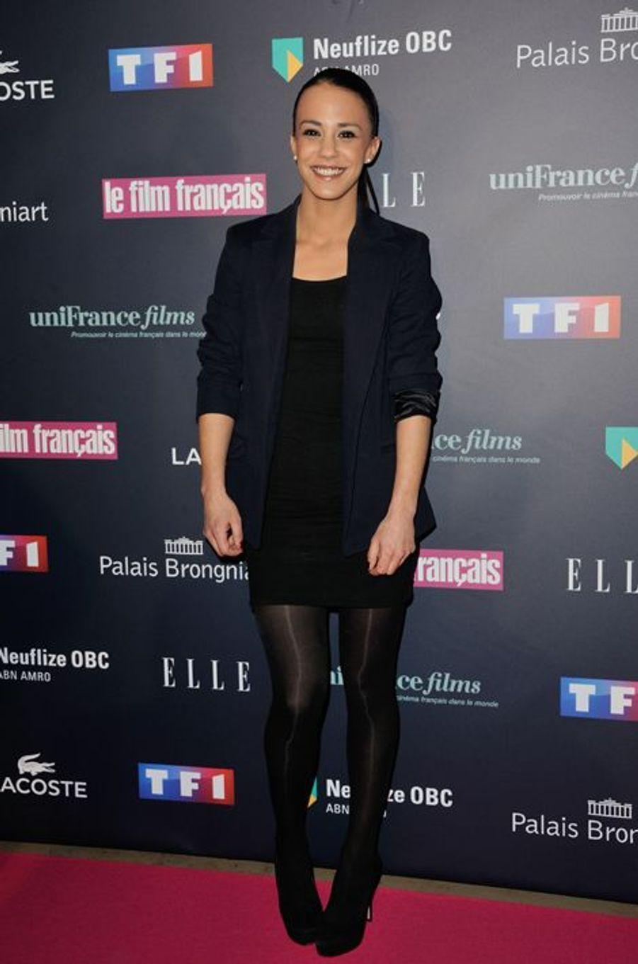 Alice Belaïdi aux Trophées du Film Français
