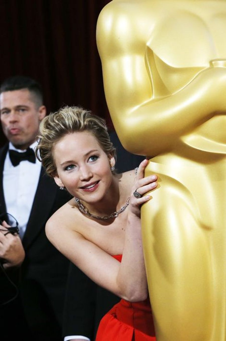 Jennifer Lawrence aux Oscars 2014