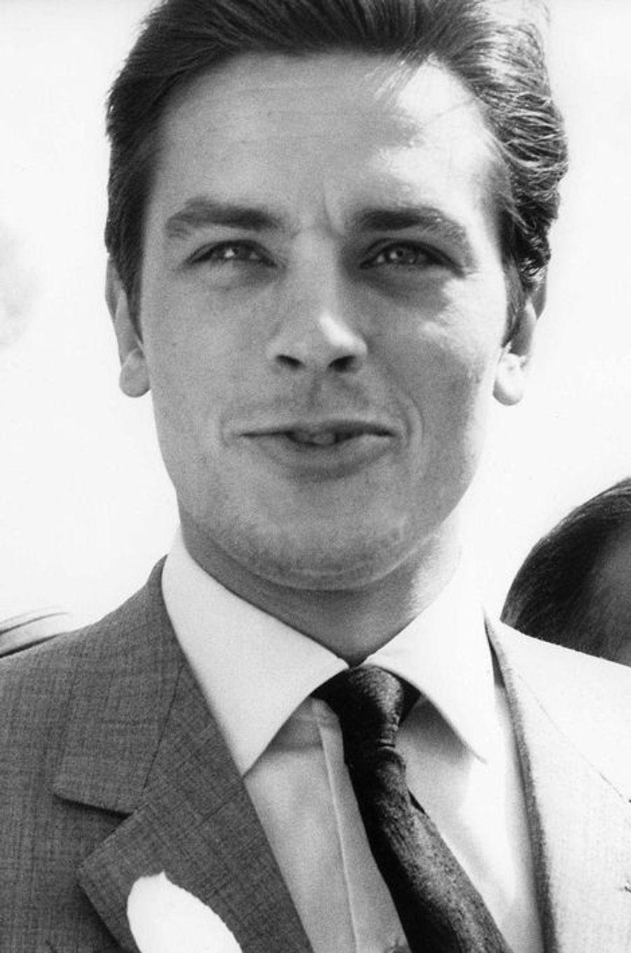 Alain Delon au Festival de Cannes 1962