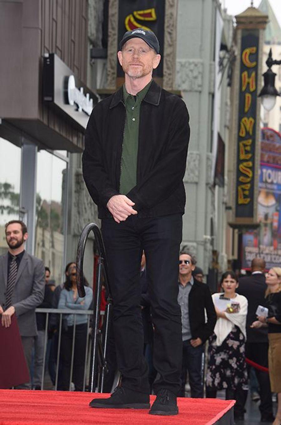 Ron Howard à Los Angeles le 10 décembre 2015