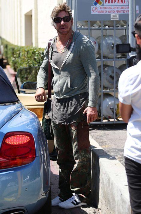 Mickey Rourke à Los Angeles le 26 juillet 2015