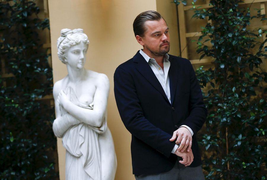 Leonardo DiCaprio, beau et serein à Rome