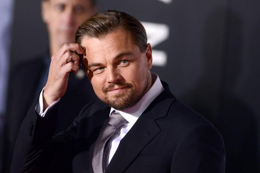 Leonardo DiCaprio à Los Angeles le 16 décembre 2015