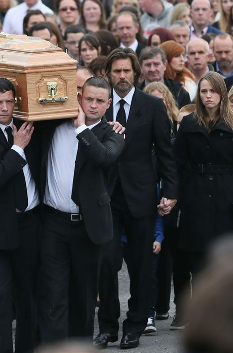 Les funérailles de Cathriona White, en Irlande, le 10 octobre 2015.