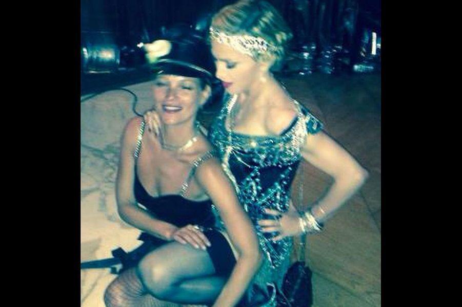 Avec Kate Moss pour ses 56 ans