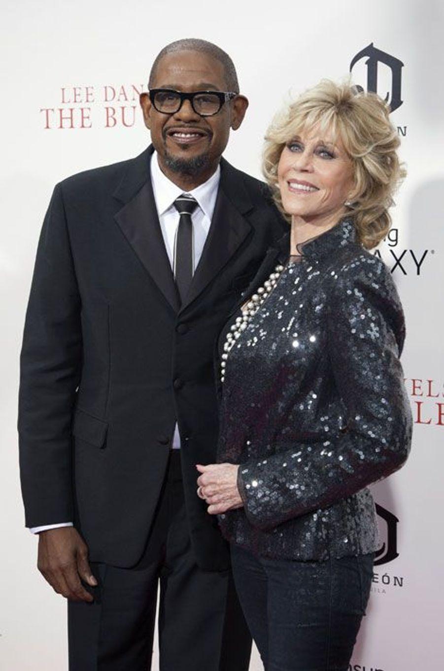 Forest Whitaker et Jane Fonda
