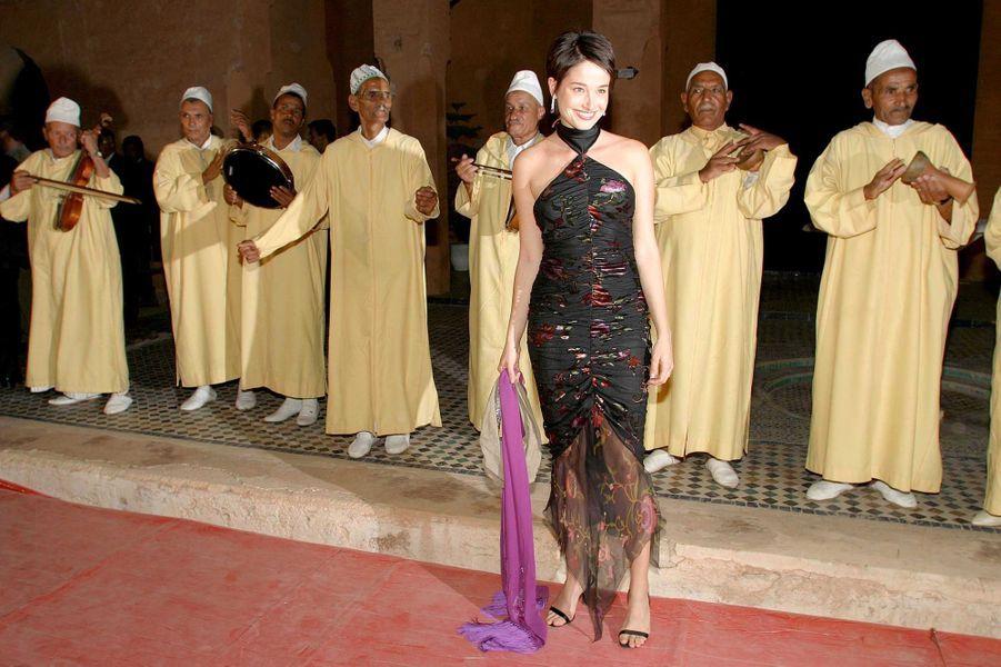 A l'ouverture du Festival du Film de Marrakech en 2003