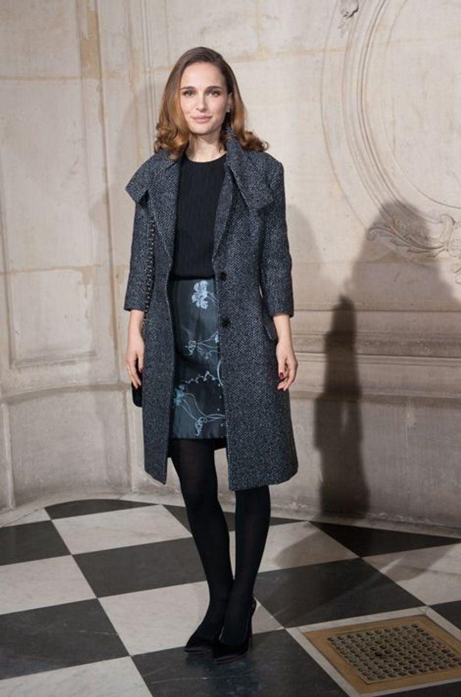 Natalie Portman à Paris le 26 janvier 2015