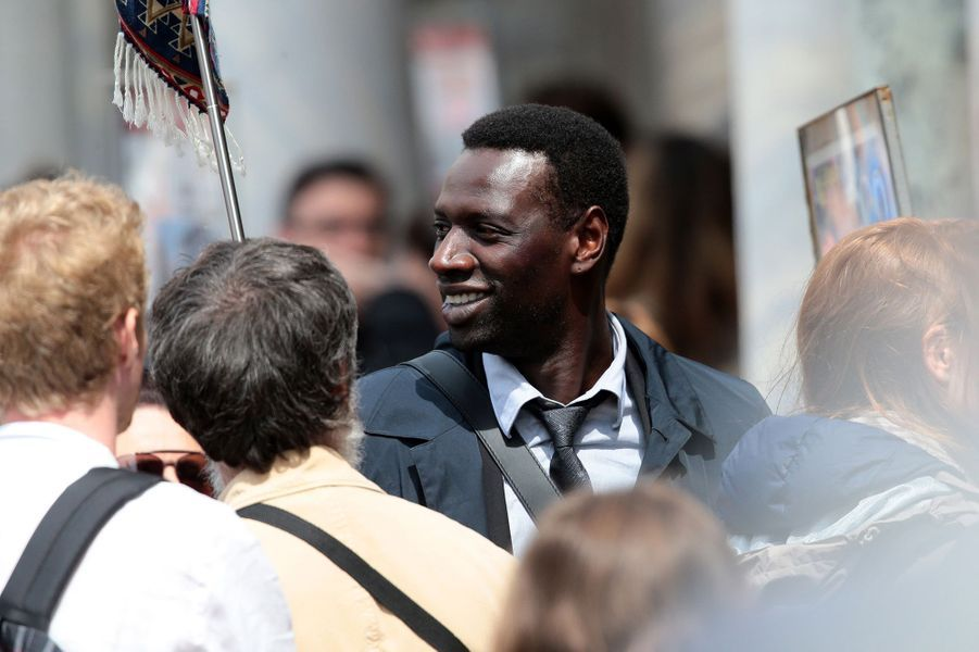 Omar Sy à Venise le 28 avril 2015