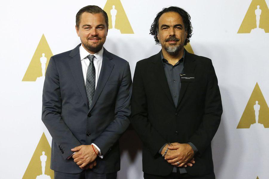 Leonardo DiCaprio et Alejandro González Iñárritu