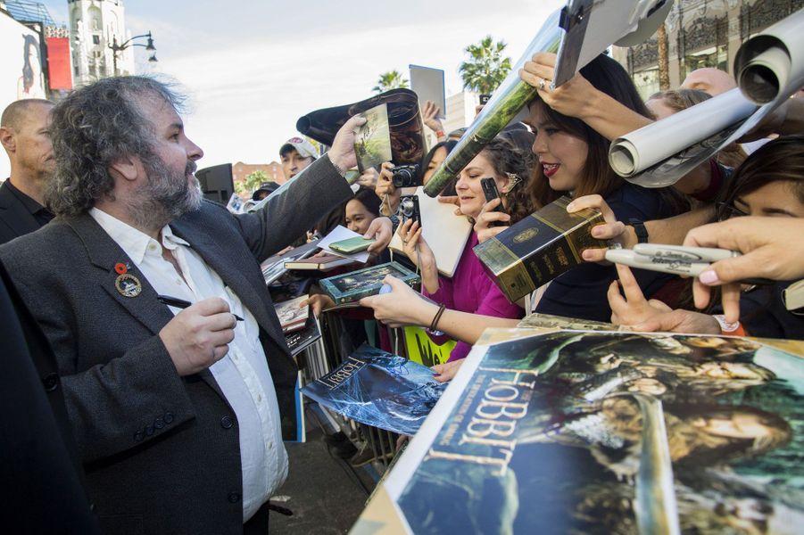 Peter Jackson a inauguré son étoile à Hollywood
