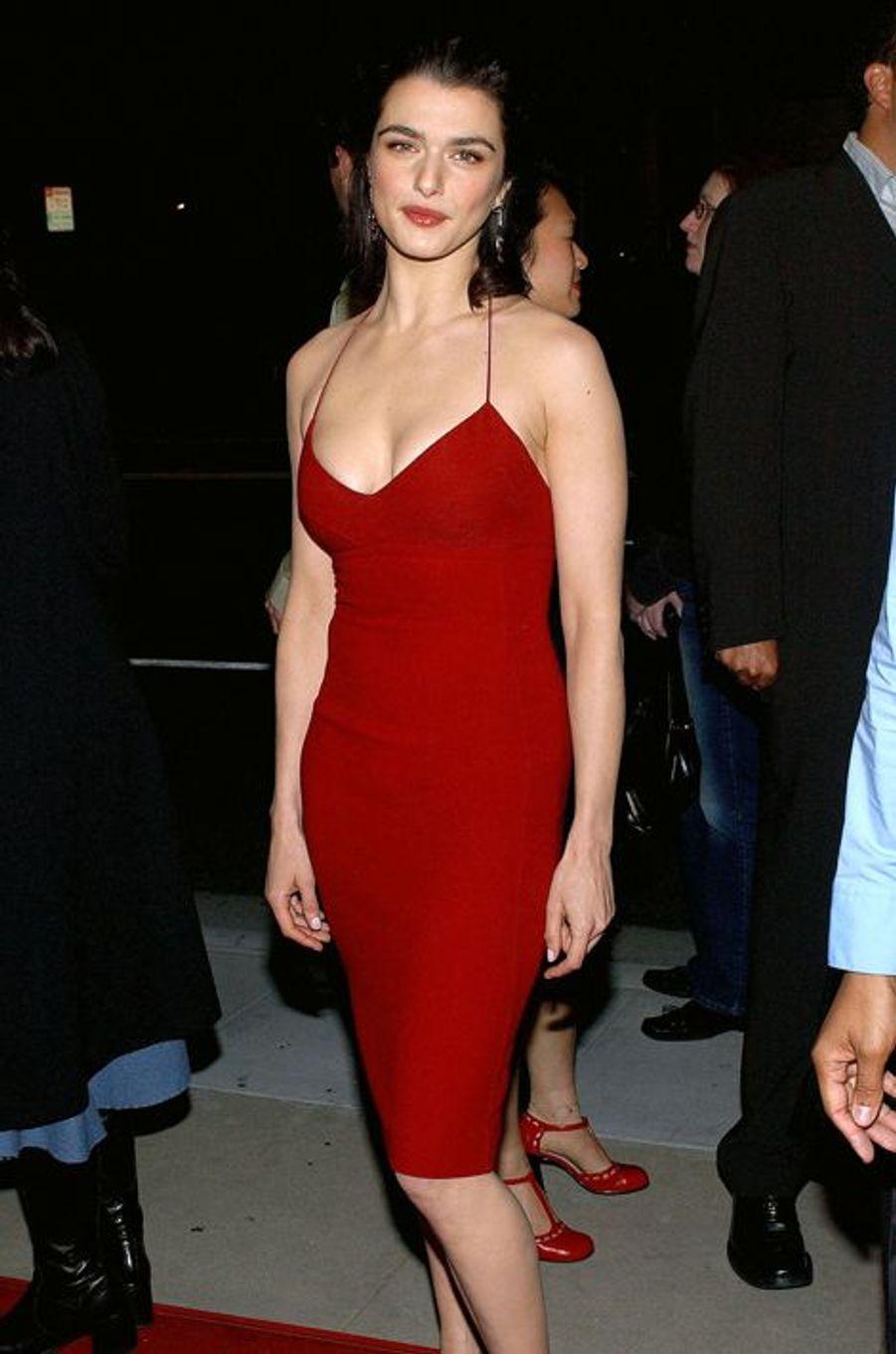 """A la première du film """"Confidence"""" à Los Angeles en 2003"""